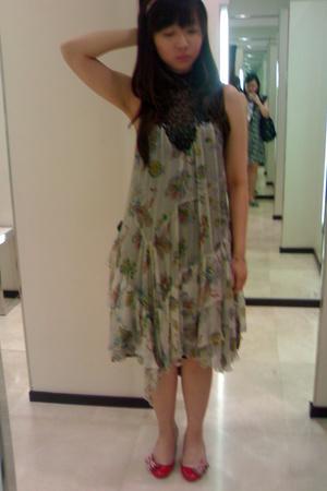 Zara dress - mondo shoes