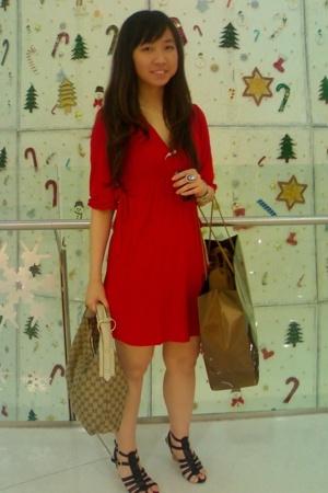Zara dress - Gucci purse - Gucci - Forever21