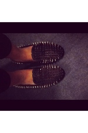 spiked Hell raiser spiked loafers loafers