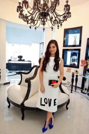 love Osman Studio dress - lego Les Petits Joueurs bag - sandals Gio Diev pumps