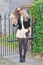 Black-vintage-blazer-beige-topshop-shorts-black-vintage-purse-blue-vintage