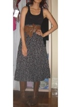 Target Australia top - belt - skirt - Charles & Keith boots