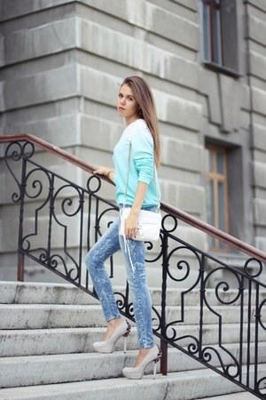 Zara sweater - Rebecca Minkoff bag
