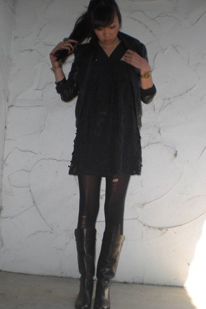 forever 21 dress - H&M jacket - Zara
