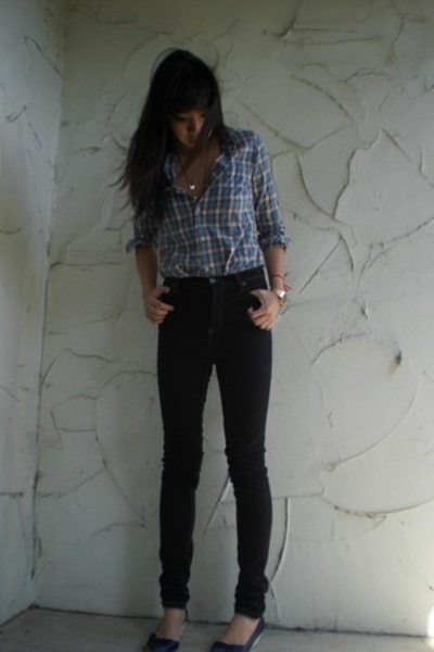 "Vintage Shirts, Cheap Monday Jeans, Ziginy Shoes | ""High-waisted ..."