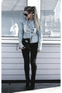 Black-calvin-klein-shoes-black-tiger-of-sweden-jeans-light-blue-diy-jacket