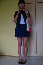 Topshop skirt - Topshop - dorathy perkins jacket - online - forever 21 purse