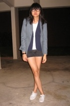 southaven blazer - vest - - shorts - t-shirt - River Island shoes