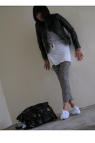 Topshop - - Dorothy Perkins jacket - River Island shoes - - purse