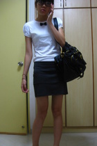 Fox - purse - Topshop skirt - -