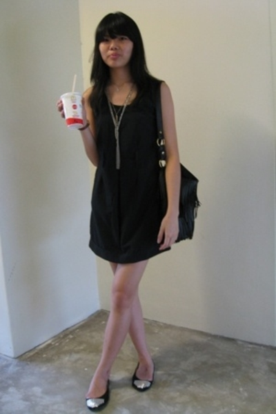 dress - - shoes - Forever21 necklace - Forever21 necklace -