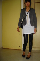 blazer - Topshop top - - diva necklace