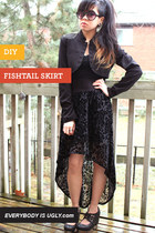 DIY FISH TAIL SKIRT