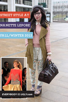 STREET STYLE AT NANETTE LEPORE FALL/WINTER 2012