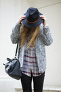 Topshop-shoes-topshop-hat-topshop-jacket-zara-bag-zara-blouse