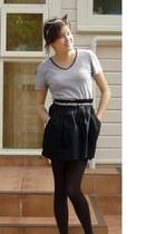 made it myself accessories - esipirt t-shirt - cotton on belt - Barkins skirt
