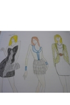 Fashion drawing 10