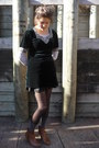 Tawny-rubi-shoes-boots-forest-green-charity-shop-dress