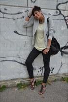 Zara blazer - J Brand jeans - Alexander Wang bag - Flavio Castellani sandals