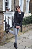 Fendi heels - Zara jeans - Zara blazer - Zara shirt - Zara bag