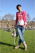 Zara blazer - Zadig & Voltaire boots - Miu Miu bag