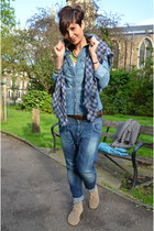 Guess shirt - Dixie jeans - Anniel flats