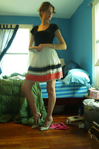BCBG shirt - forever 21 skirt - Steven by Steve Madden shoes
