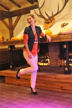 calvin klein blouse - poema vest