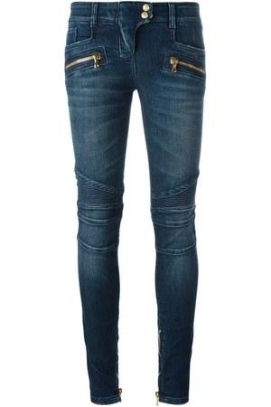 biker jeans farfetch jeans
