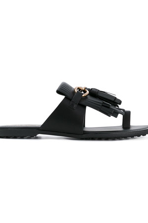 fringed sandals farfetch shoes