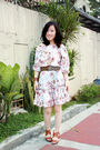 Beige-from-greenhills-dress-brown-from-hongkong-shoes-brown-bijouxdelou-brac