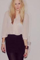 Primark blouse - the Sting skirt
