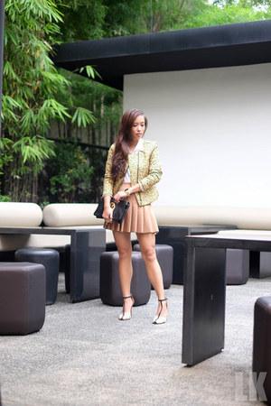 brown Forever 21 skirt