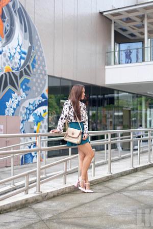 bubble gum Zara heels