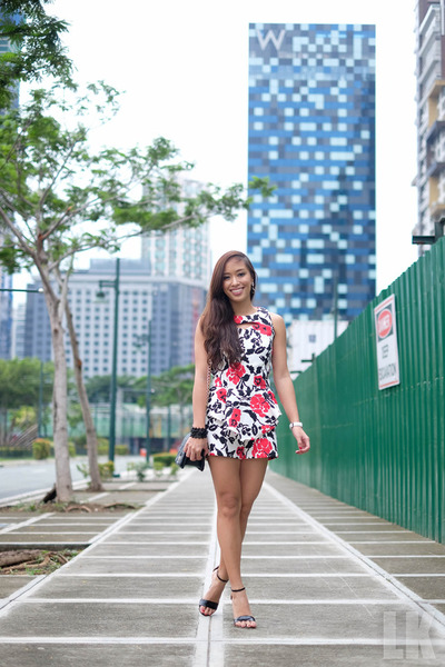 red apartment 8 romper