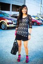 black lace Wisdom dress - black heels bought online shoes