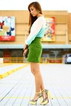 olive green Veva Deeluxe skirt