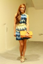 blue NIMA dress