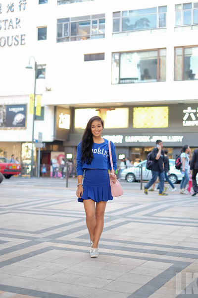 Blue-forever-21-sweater