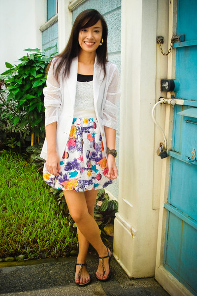 blazer - peanutbutterandjeri dress - shoes