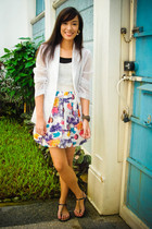 blazer - peanutbutterandjeri dress - shoes
