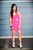hot pink Stylebreak dress - white bought online shoes