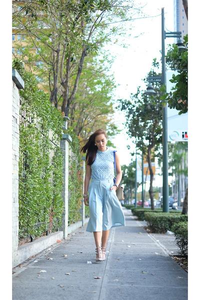 blue Celine bag
