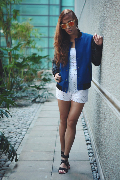 blue Forever 21 jacket