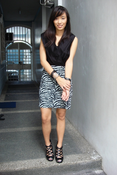 Tyler top - Vice skirt - bought online shoes - accessories - accessories