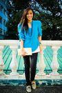 Blue-lovevintagemanila-blazer-black-random-brand-accessories-black-mango-jea