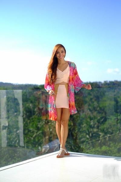 pink Pink Manila skirt