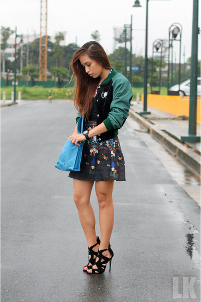 black heels Zara shoes