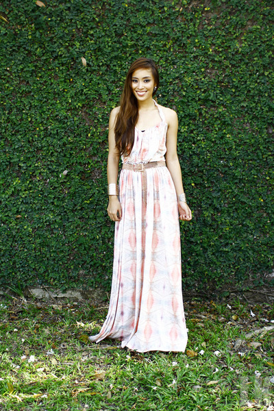 Light Pink Maxi Dresses