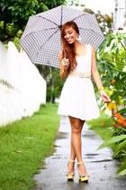 white SM dress